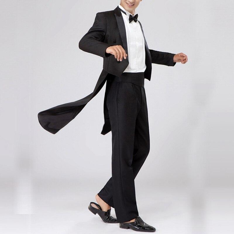 Xs-xl Männer Anzug Smoking Bühne Leistung Bräutigam Hochzeit Prom Blazer Herren Bestover Kleid Klavier Westen Dünne Fitness Blazer FüR Schnellen Versand Anzüge & Blazer