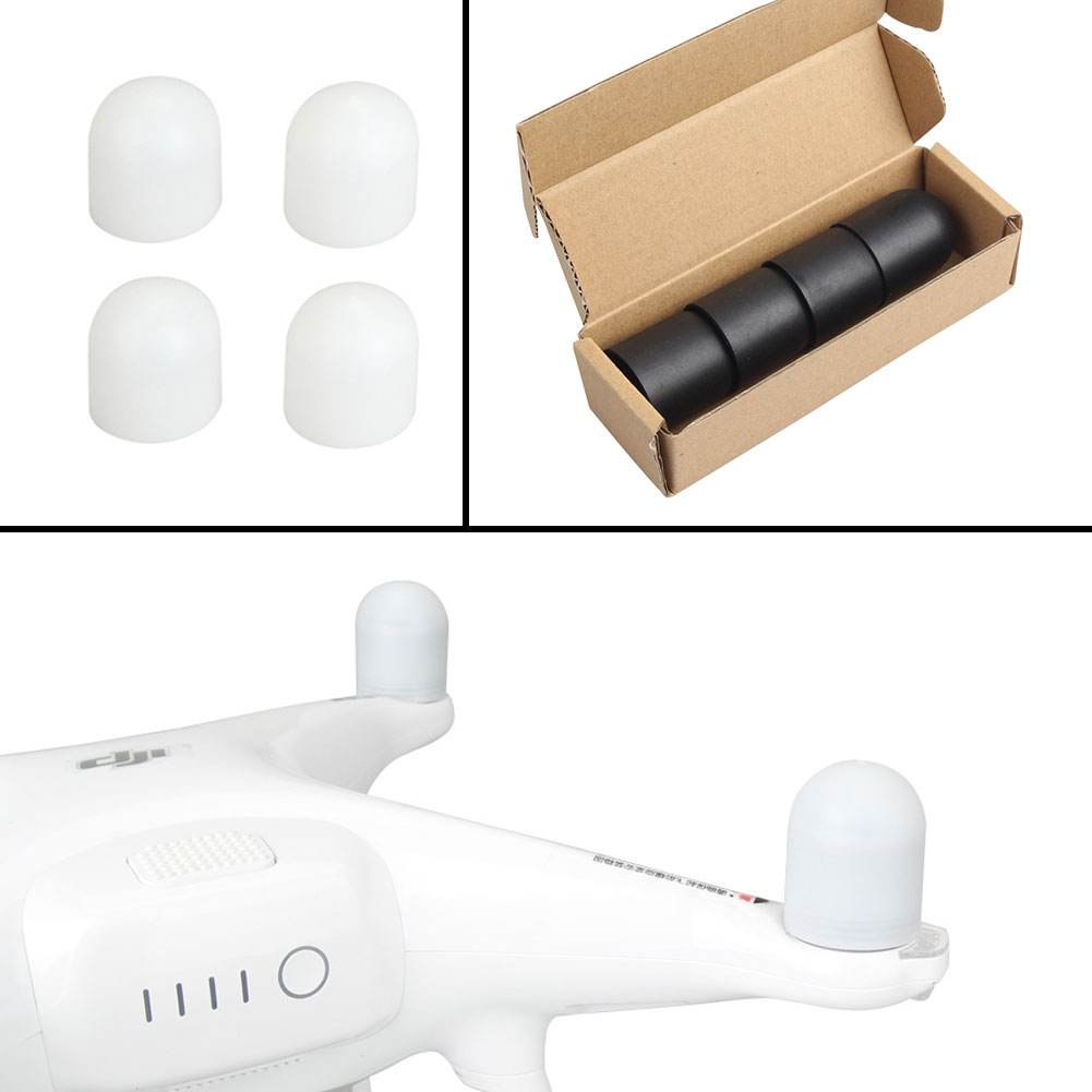 Silicone Motor Protector Cover Dust-proof Cap Accessories For DJI Phantom 4