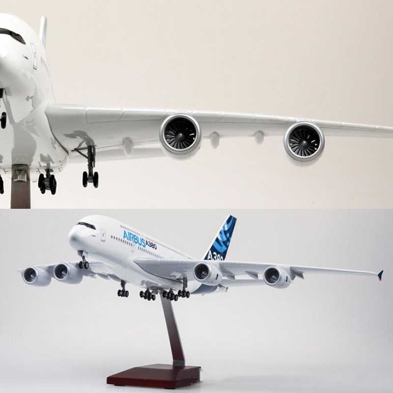 1/160 Scale 50 5CM Airplane Airbus A380 Prototype Airline