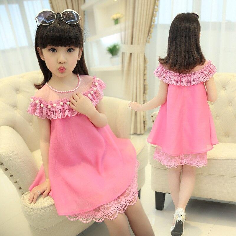 Mädchen Prinzessin Kleid Kinder Abend Kleidung Kinder Chiffon ...