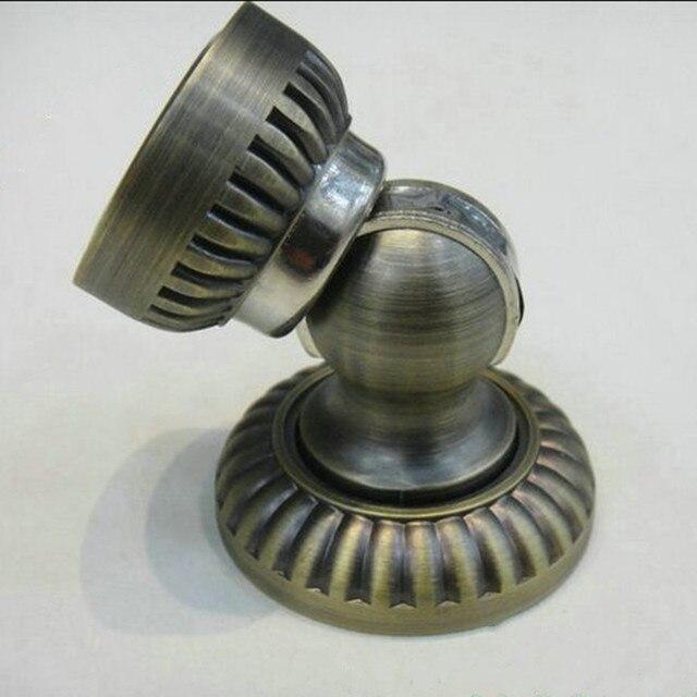 High Quality Retro Style Bronze Door Stops ,heavy Duty Magnetic Intensity  Short Small Door Stopper