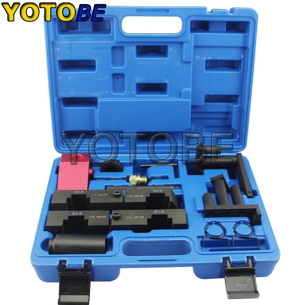 11 PCS Camshaft Locking Tool For BMW M60 M62 M62TU V8 Engine Timing Tool Kit цена