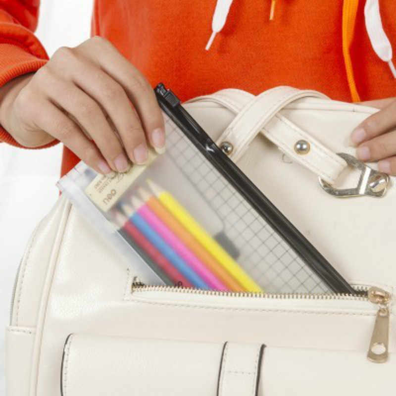 PVC Waterproof Transparent Toothbrush Cosmetic Bag Women Travel Makeup Bag Organizer Storage Pouch Toiletry Beauty Wash Kit Case