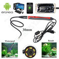Chinscope Updated 5.5MM Inspecition Endoscope Borescope Camera OTG Android Endoscope 6 Leds