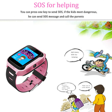 Kids Smart Watch with Touch Screen Camera GPS Tracker
