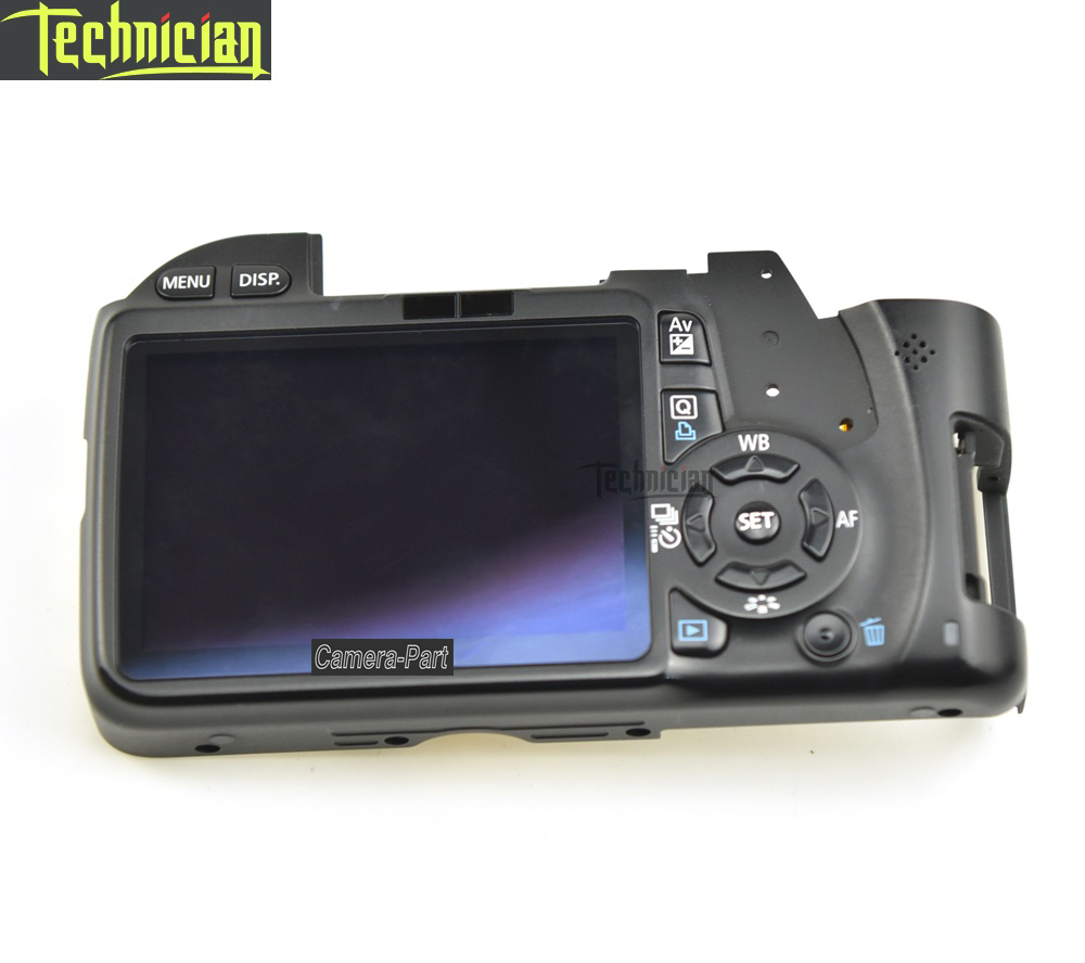 550D Rear Back Cover Case with LCD and Flex Cable and Button Camera Repair Part For Canon550D Rear Back Cover Case with LCD and Flex Cable and Button Camera Repair Part For Canon