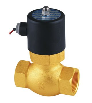 Free Shipping 5pcs In Lot 1-1/4'' Uni-D Steam Solenoid PTFE Valve US-35 2/2 Way Valves 2L300-35 1 2 steam valves water valves 2 2 way solenoid valves direct acting