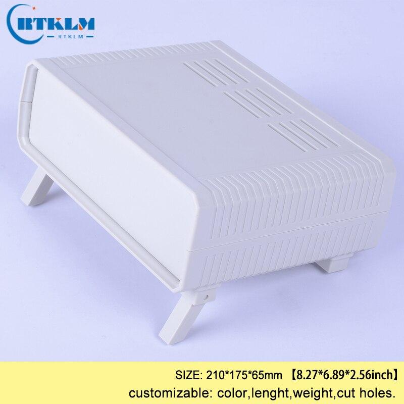 Plastic Junction Box Abs Plastic Enclosure Electric Box Diy Instrument Case Custom Desktop Enclosure 210*175*65mm