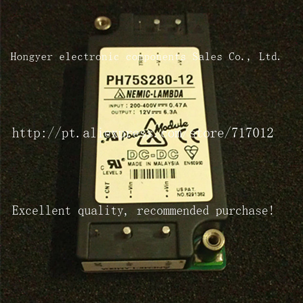 Free Shipping PH75S280-12 New products DC/DC: 280V-12V-75W,Can directly buy or contact the seller