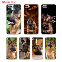 Silicone Phone Case Shepherds Dog German for Xiaomi Redmi S2 Note 4 4X 5 5Pro 5A Plus 6 6A 7 Pro Cover g whitefield chadwick while shepherds watched