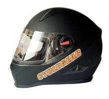 Новый Cyclegear мотоциклетных шлемов Анфас шоссейные Capacete Каско качество мотоцикл шлем CG863