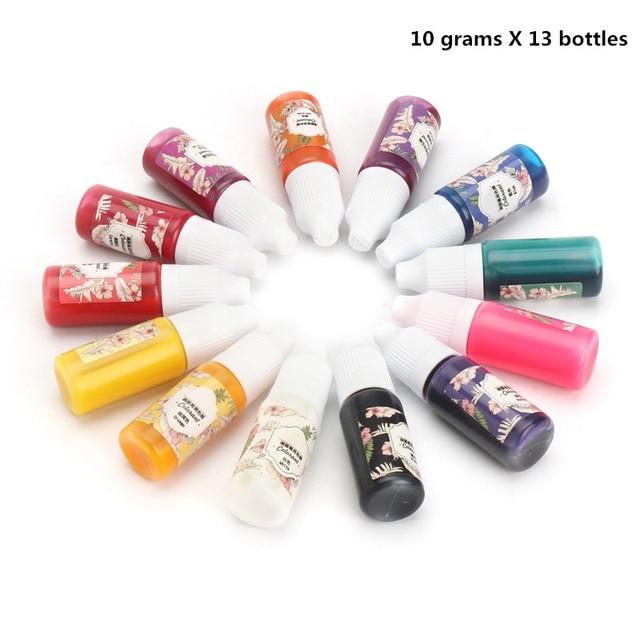 Aliexpress.com : Buy KiWarm New 13Pcs 10g Epoxy UV Resin Coloring ...