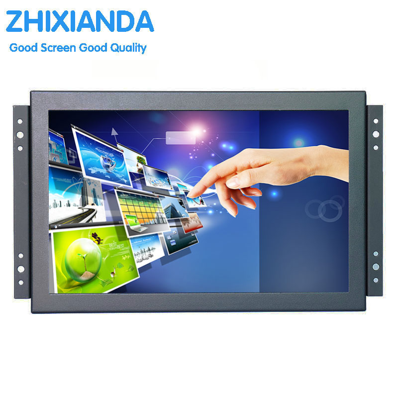 10.1 inch 1080p Metal Shell Embedded Open Frame Free Drive Multi-point Capacitive Touch Monitor LCD Screen Display 9 inch display p nair momo9 interstellar version touch screen capacitive screen 300 n3860b a00