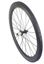 super light 700c width 25mm custom paint sticker carbon dimple clincher wheel 58mm ceramic wheelset