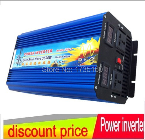 3500W inverter a onda sinusoidale High Capacity UP To 7000W(Peak) Invertor DC AC Pure Sine Wave Solar Hybrid Inverter 3500W