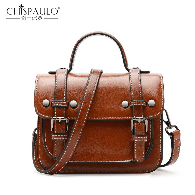 Genuine Leather Bags For Women High Quality Natural Leather Ladies Shoulder Bags Female Vintage Crossbody Bags Classic Flap Bags 2018 genuine leather women handbag high quality natural leather panelled ladies shoulder bags luxury female crossbody bags