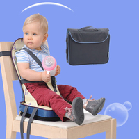 Foldable Baby Chair Portable Light Weight Baby Seat Feeding Toddler Seat High Quality Safety Belt Booster