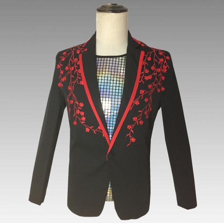 Cross Ribbon Overcoats Men High Street Fashion Printing Hip Hop Punk Style Long Hooded Trench Jacket