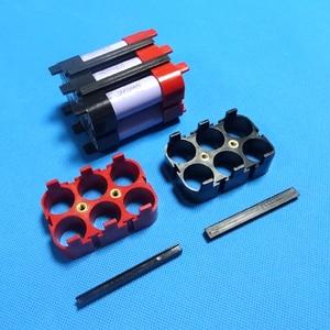 Image 3 - حامل بطارية ليثيوم أيون 18650 للسيارة EV 4 P/6 P مادة ABS + PC جودة عالية 18650 حامل بطارية لحزمة بطارية الطاقة الكبيرة