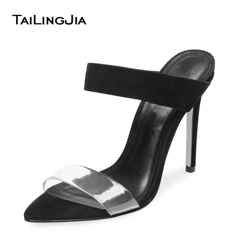 Brand Black Faux Suede Open Toe High Heel Woman Shoes Nude Slip On Ladies Summer Shoes Pink Party Wedding Dress Shoes Plus Size Brand Black Faux Suede Open Toe High Heel Woman Shoes Nude Slip On Ladies Summer Shoes Pink Party Wedding Dress Shoes Plus Size