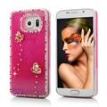 Световой Quicksand Чехол Для Samsung Galaxy S5 S6 Luxury 3D Яркий Блеск Bling алмаза Жесткий Задняя Крышка Для iPhone 5 5S SE 6 6 S Plus