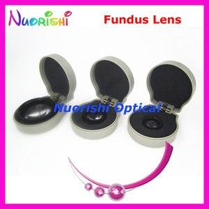 Image 5 - 78DM Als Goede Als Volk Lens! oogheelkundige Asferische Fundus Slit Lamp Contact Glas Lens Harde Plastic Verpakt Gratis Verzending
