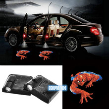 2pcs Car-styling Car Door Led Welcome Laser Projector Logo for Skoda octavia fabia yeti rapia superb octavia a7 a5 2 accessories