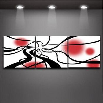 Set Di 3 Pezzi D'arte   3 Pezzo Set Astratta Moderna Pittura A Olio Su Tela Wall Panel Decorazione Home Office Decorazione Spedizione Gratuita