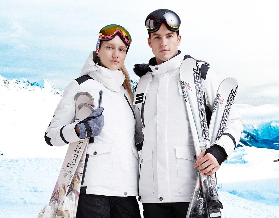 Hot Sale Winter Outdoor Couple Ski Snow Hunting Fishing Cotton Sportswear Women Warm Coat Camping Waterproof Windproof Jackets