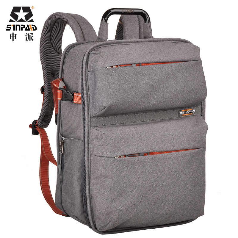 Sinpaid  2016 New  professional SLR Digital Camera Bag SY-15 Waterproof Fabric Shoulder Bags Korea Stylish Backpack