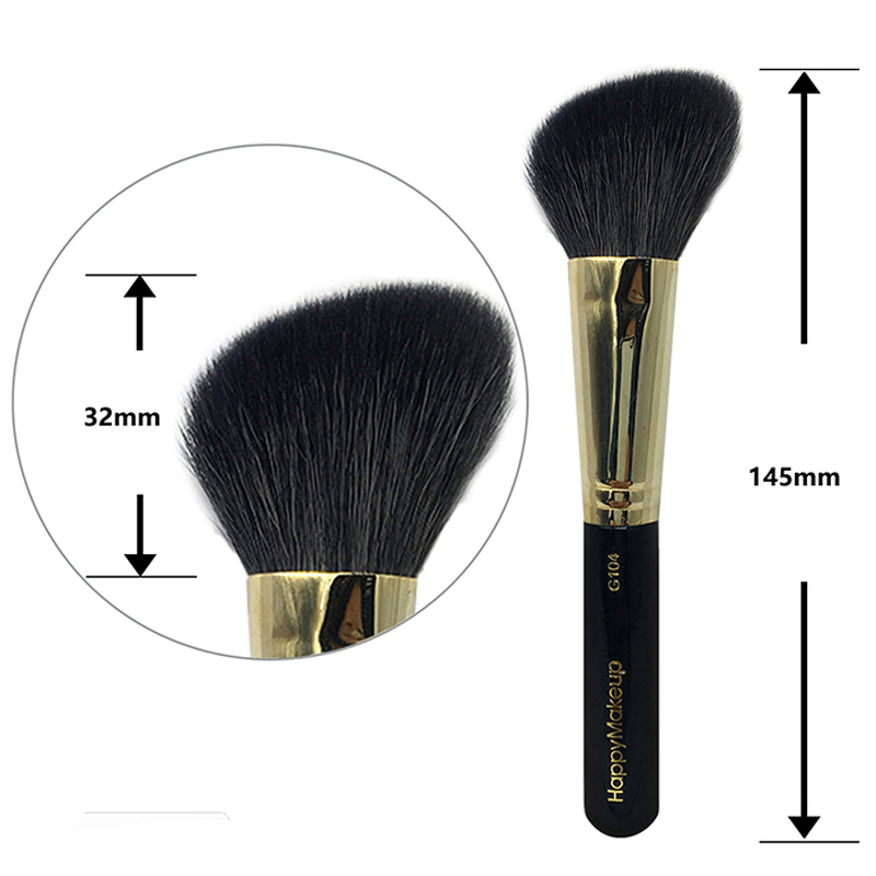 Makeup Powder Blush Brushes Professional Make Up Brush Large Cosmetics Loose Powder Brushes Foundation Make Up Tool Goat Hair make up factory blush brush