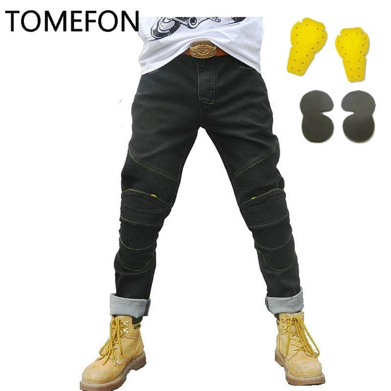 SPEED SCORPION KOMINE Men Motorcyle Pants KTM Downhill Motocross Pants For Motorcycle Moto Jeans With Knee Pad Trousers Moletom
