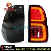 Car Styling Tail Lamp case for Toyota hilux revo vigo Tail Lights LED Tail Light Rear Lamp LED taillights hilux revo tailight