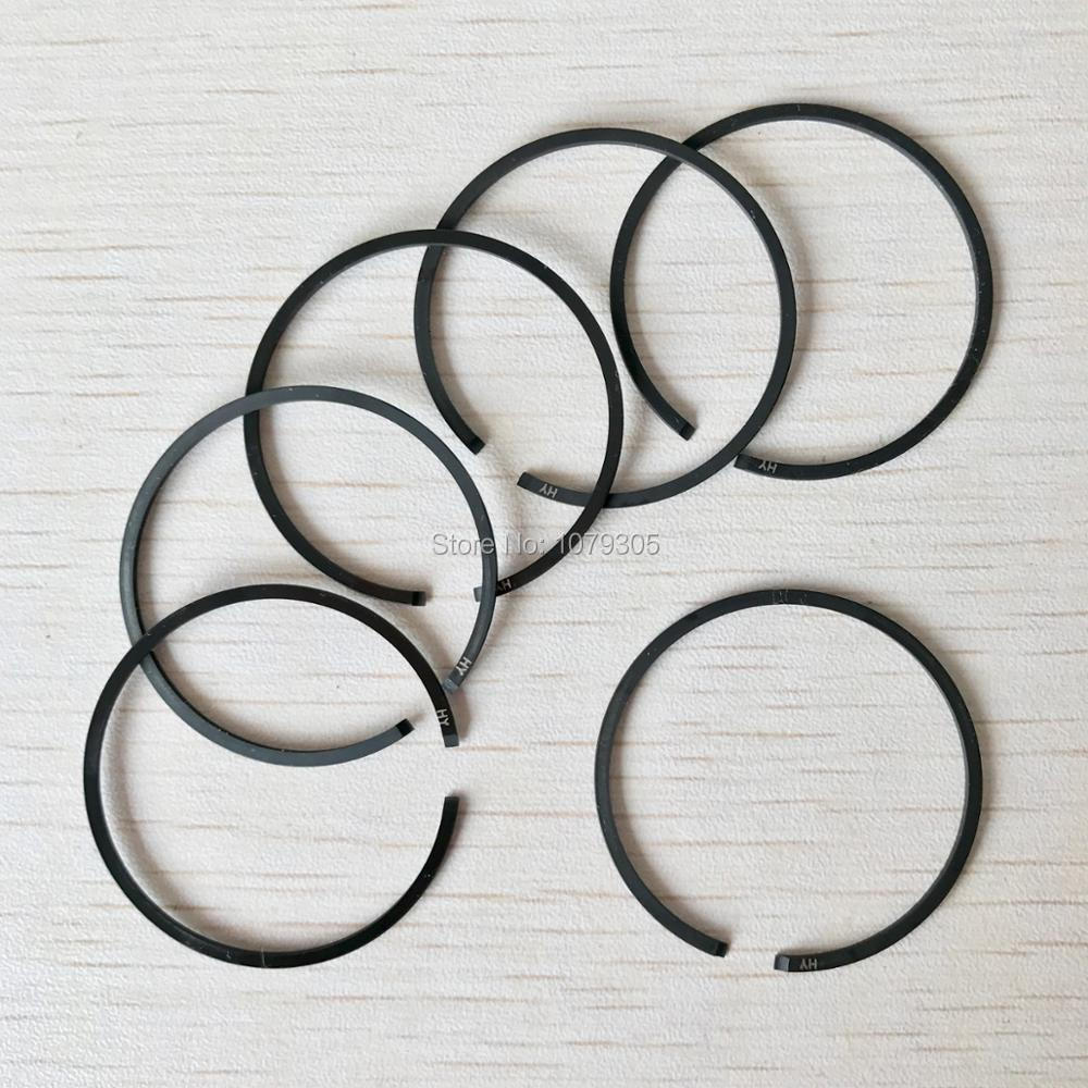 6Pcs 38mm Piston Rings For STIHL 018 MS180 MS 180 Chainsaw Replacement