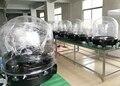 Fase Fascio di Luce In Movimento 200W230W260W330W350W Outdoor Pioggia Neve Cappa di Copertura Protettiva Trasparente Casa con Base