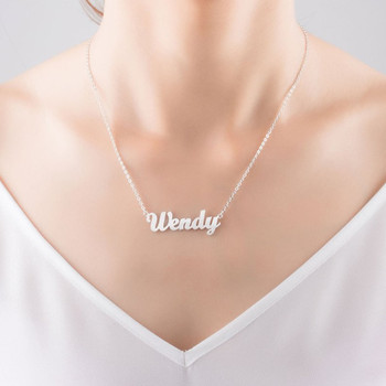 Personalized Nameplate Necklace  1