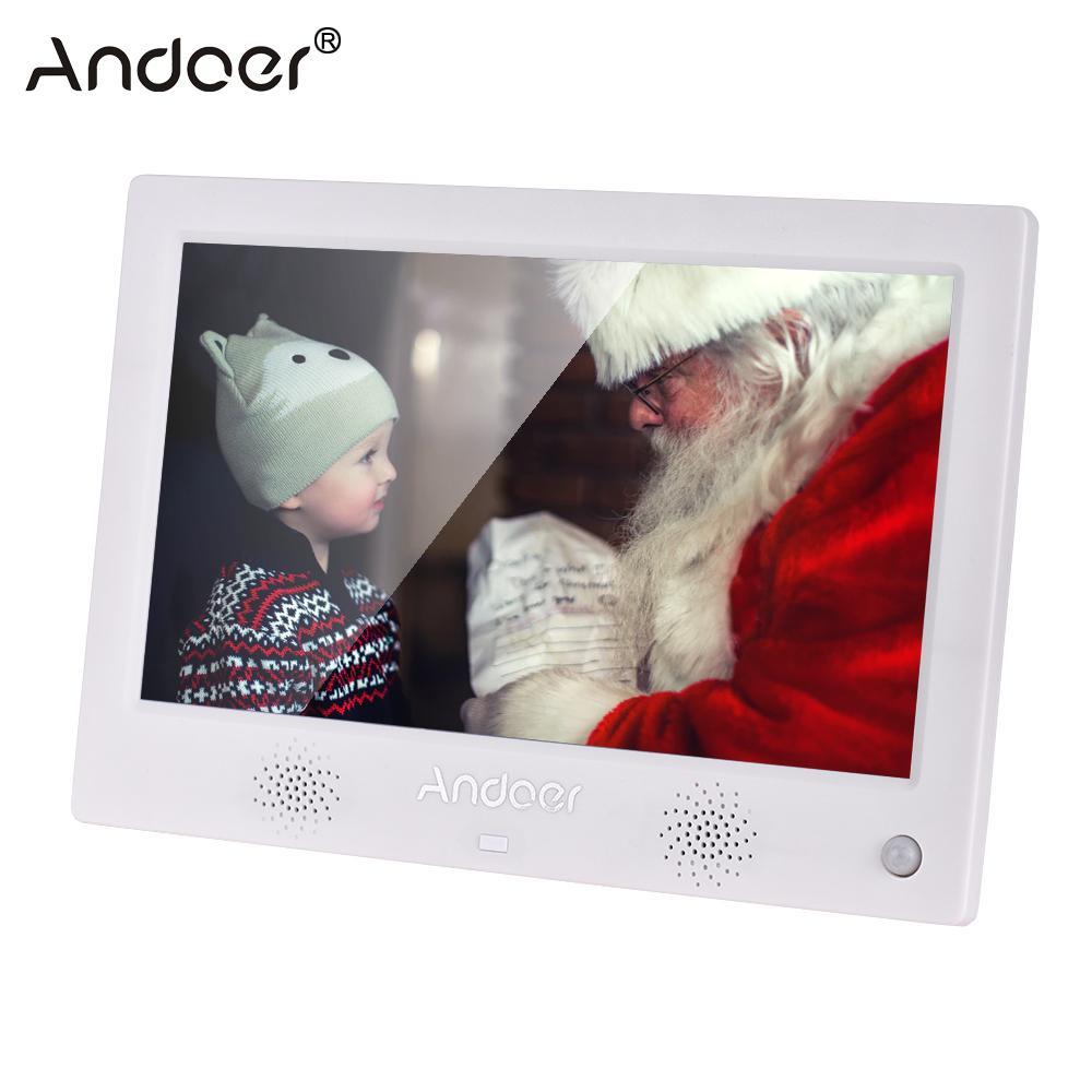 "Andoer 10.1"" Digital Photo Frame LED Screen Digital Photo"