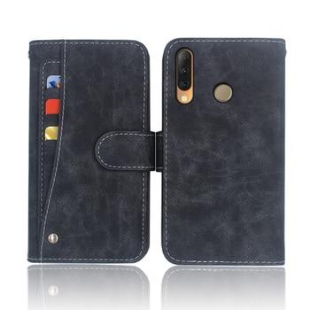 Перейти на Алиэкспресс и купить Хит! Tecno Camon 11S чехол высококачественный кожаный чехол-книжка для телефона чехол для Tecno Camon 11S с передним слотом для карт