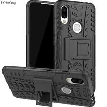 6.26 Cases For Xiaomi Redmi 7 Case Redmi7 Cover TPU & PC Shockproof Armor Holder Bumper Phone shell Fundas