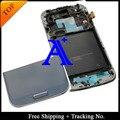 Бесплатная Доставка 100% тестирование Super AMOLED Для Samsung Galaxy S4 i9500 ЖК Планшета Ассамблеи с рамкой