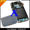 Free Shipping  100%  tested Super AMOLED For Samsung Galaxy S4 i9500 LCD Digitizer Assembly with frame