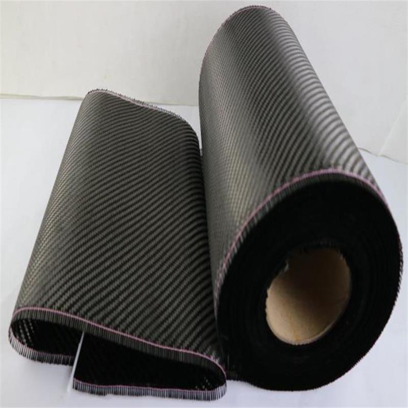 La largeur du tissu en fibre de carbone 3K 210g est de 27 cm/50 cm, 27 cm/100 cm et 27cm mètre carré. Il a une dureté élevée et une résistance à l'usure