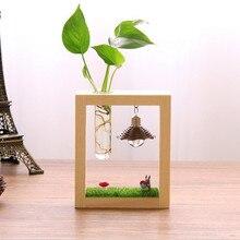Креативная домашняя ваза подарок zakka продуктовые Тигры микро-пейзаж гидропоники украшения Смола ваза Тоторо Случайная