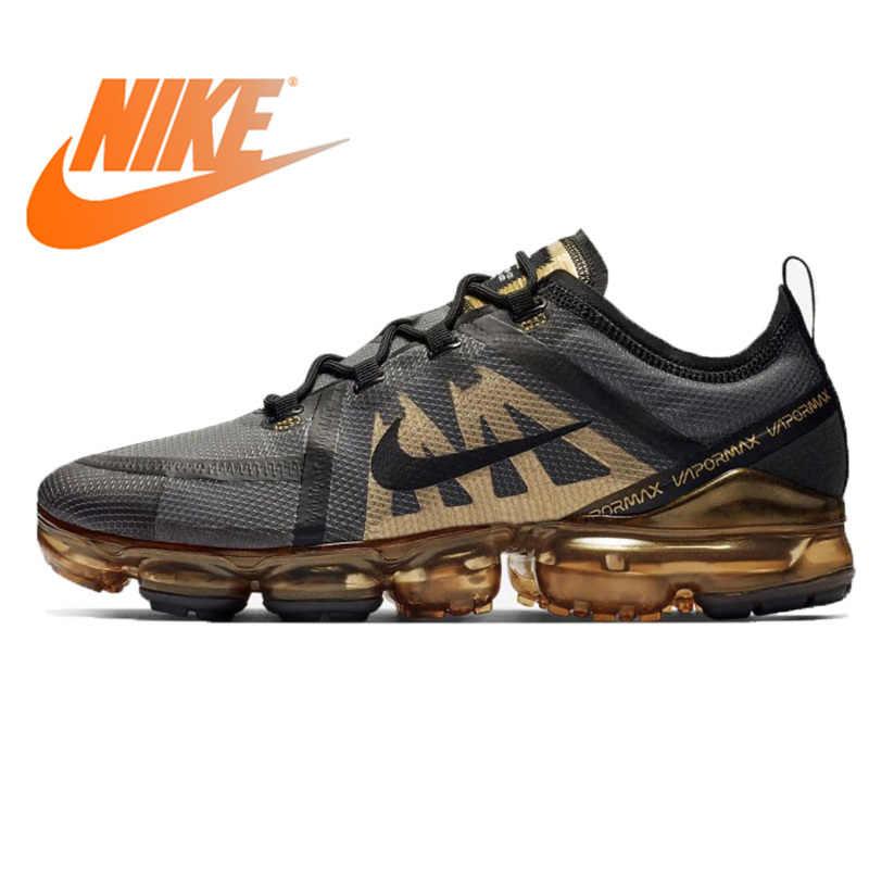 b33775ea8e Original Authentic NIKE Air VaporMax 2019 Men's Running Shoes Outdoor Sports  Shoes Jogging Comfortable New Listing