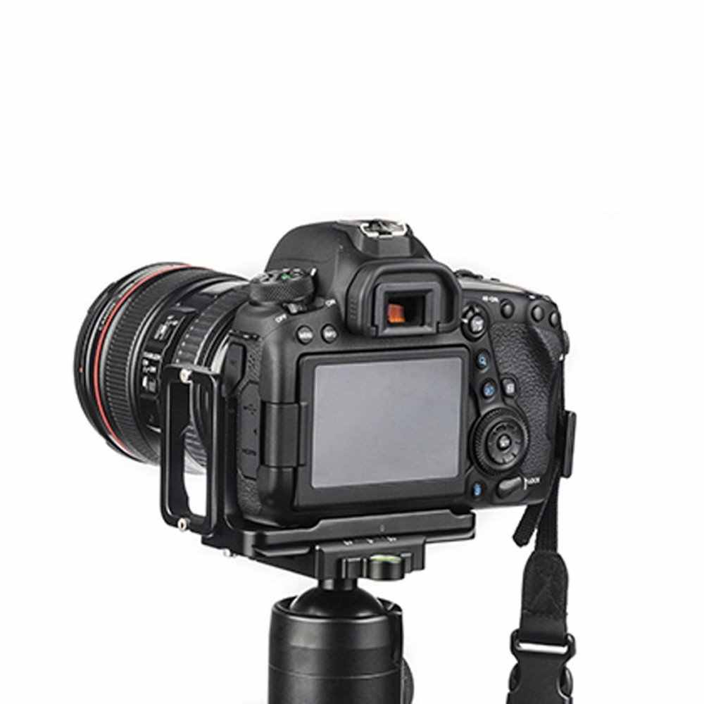 Cámara bgning Soporte Vertical Placa de liberación rápida L para Canon 6D2 6dii