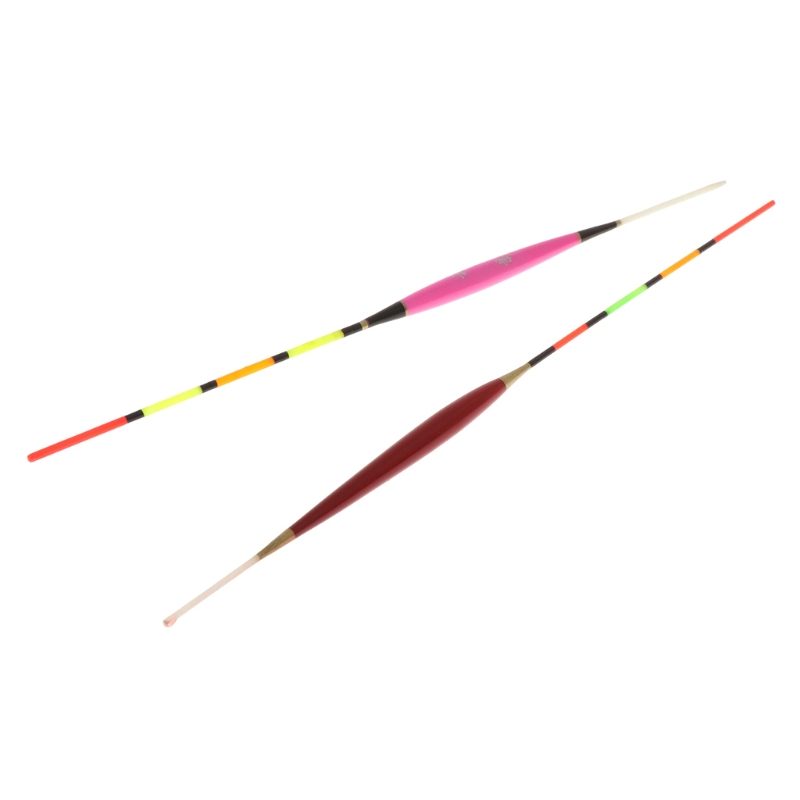 5 Pcs Fishing Float Night Luminuous Tackle Glow Stick Wood Accessories With Lead in Fishing Float from Sports Entertainment
