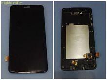 Highbirdfly для LG K8 2017 Dual SIM X240 X240K X240H ЖК-скрин Дисплей с сенсорным Стекло планшета с Рамки сборки заменить