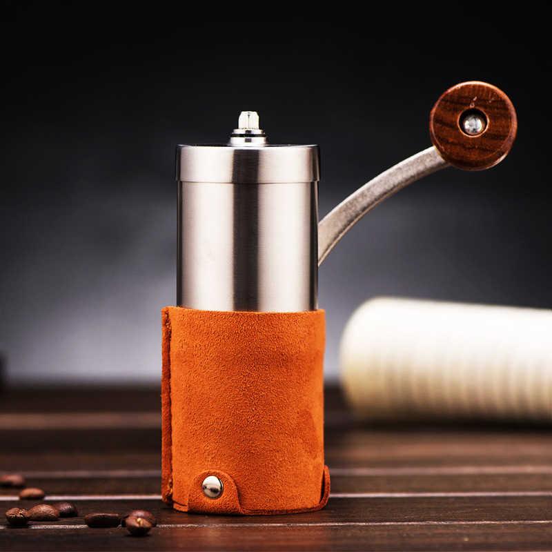 Ручная кофемолка ручная сталь с керамическими жерновами Кофемолка ручная мельница кафе Кусачка шлифовальная машина керамическая для зерен кофейная мельница
