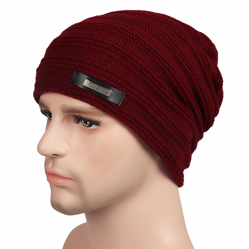 Fashion Men Winter Hats Beanies Caps Knitted Thick Outdoor Warm Hat Solid Male Skullies Hiphop Cap Touca Gorro * casquette homme women s winter hats for men skullies beanies warm cap fashion solid colors outdoor caps unisex elastic beanies kintted wool hat