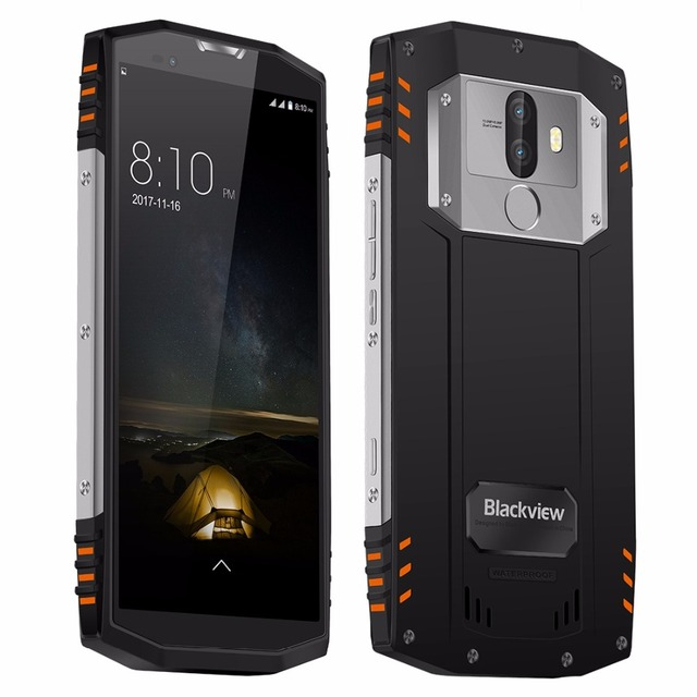 Original Blackview BV9000 Pro 4G Mobile Phones Android 7.1 6GB+128GB Octa Core IP68 Smartphone Dual SIM 5.7 inch Cell Phone